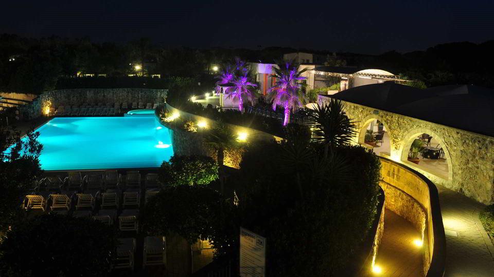 Hotel Koinè di sera